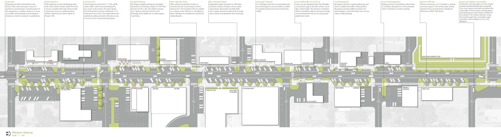 Click image to view full-size plan of Western Avenue.